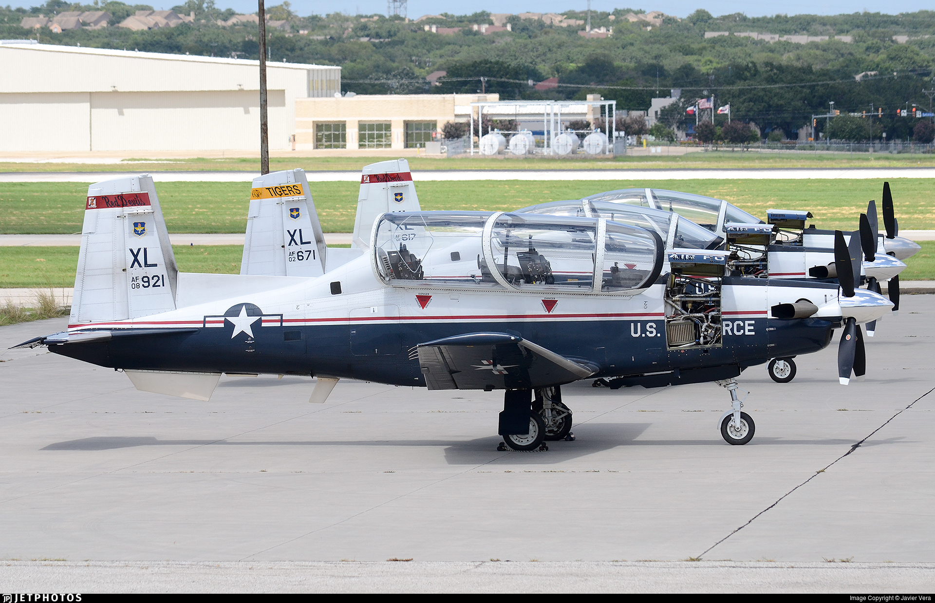 08-3921 - Raytheon T-6A Texan II - United States - US Air Force (USAF)