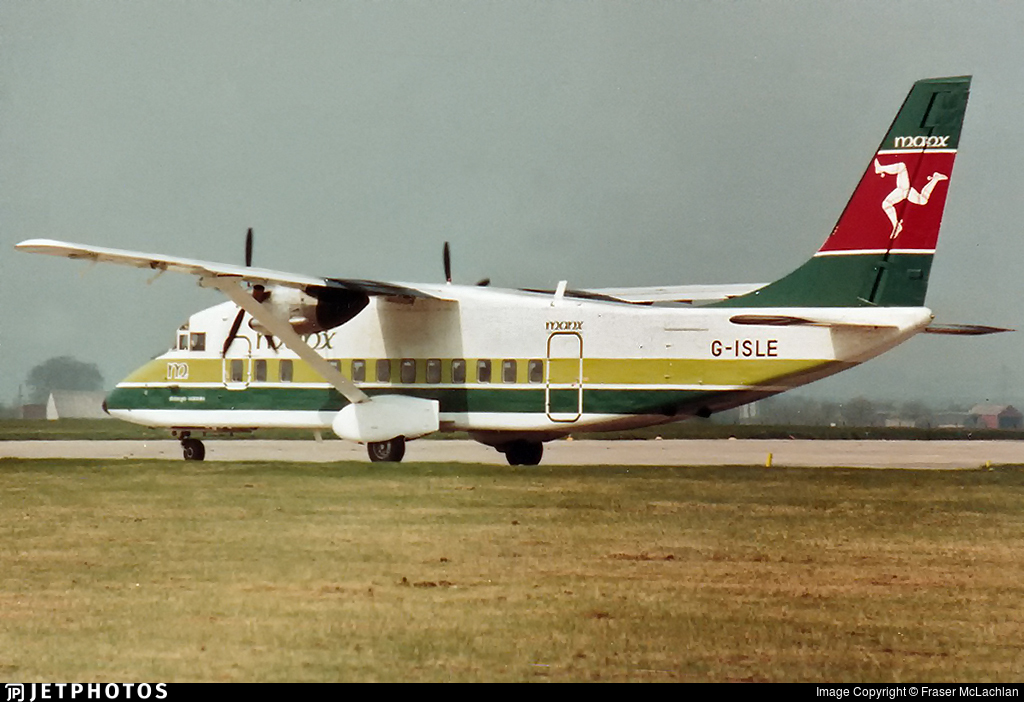 G-ISLE - Short 360-100 - Manx Airlines