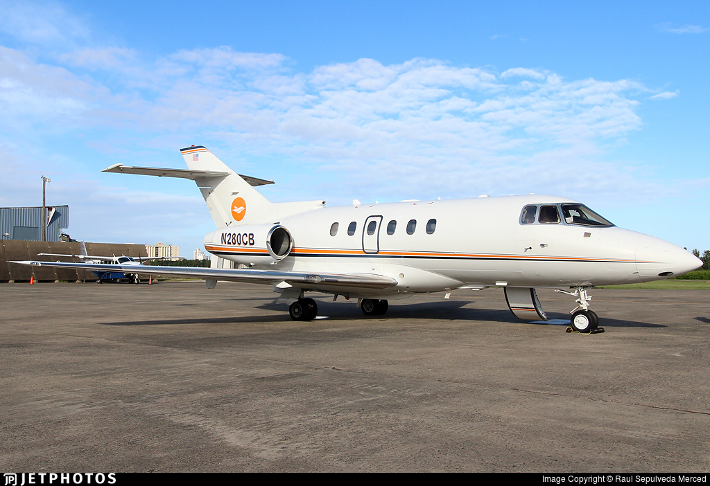 N280CB - Raytheon Hawker 800XP - Private