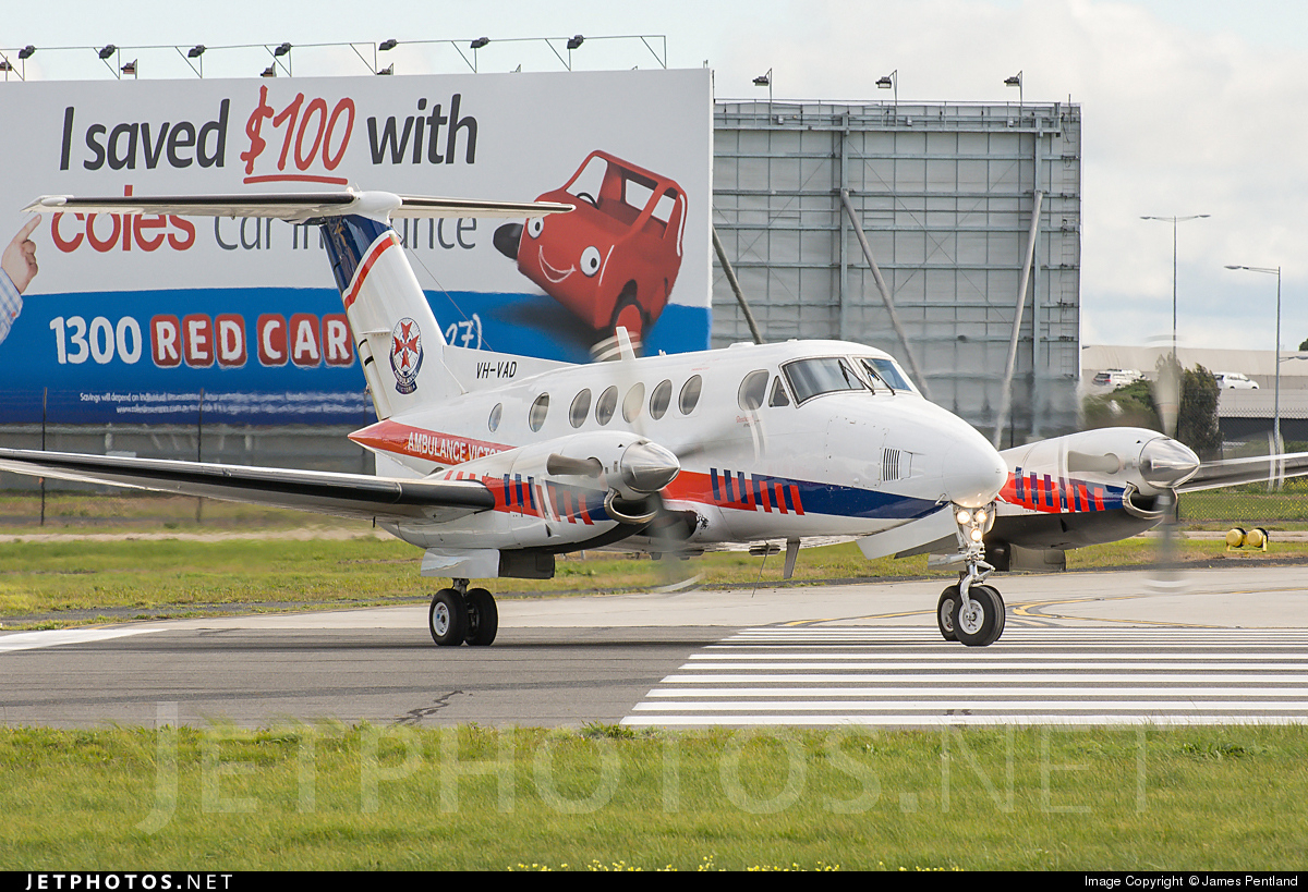 Vh Vad Beechcraft 200c Super King Air Pel Aviation James
