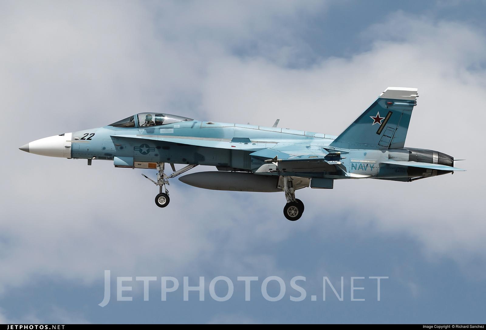 164066 - McDonnell Douglas F/A-18C Hornet - United States - US Navy (USN)