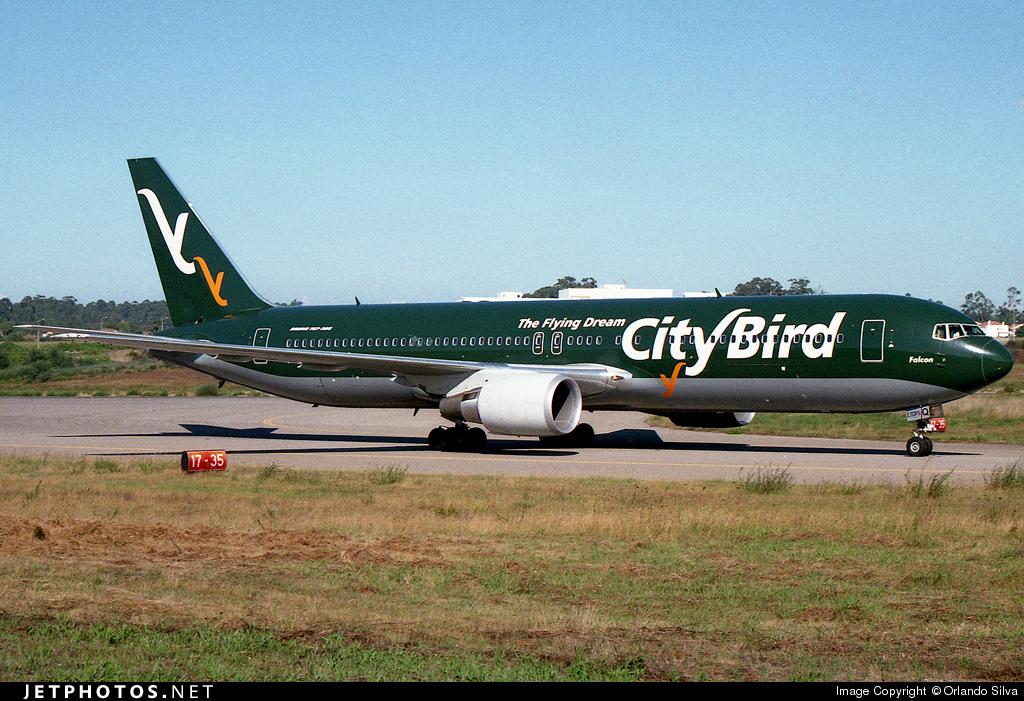 OO-CTQ - Boeing 767-33A(ER) - CityBird