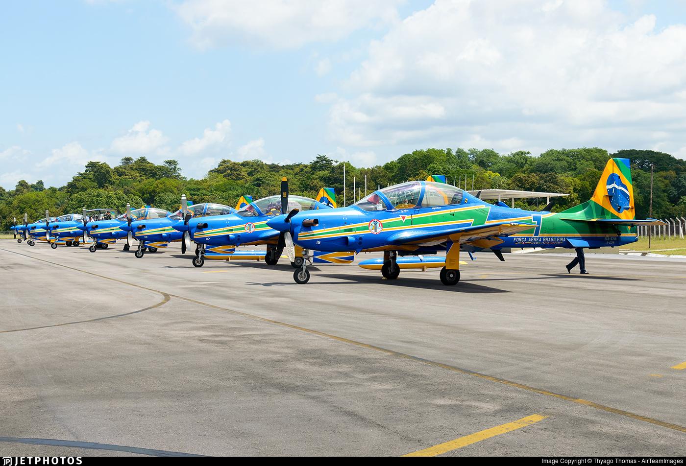 FAB5719 - Embraer A-29A Super Tucano - Brazil - Air Force