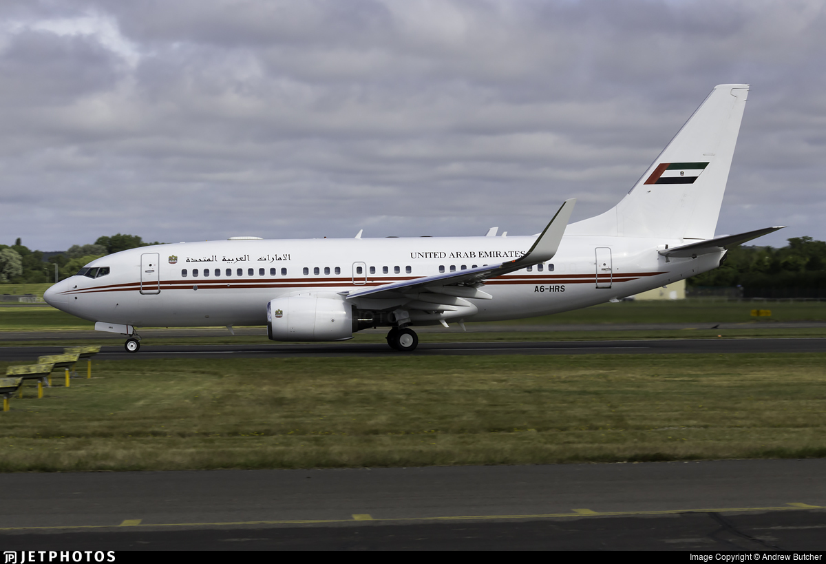 A6-HRS | Boeing 737-7E0(BBJ) | United Arab Emirates - Dubai