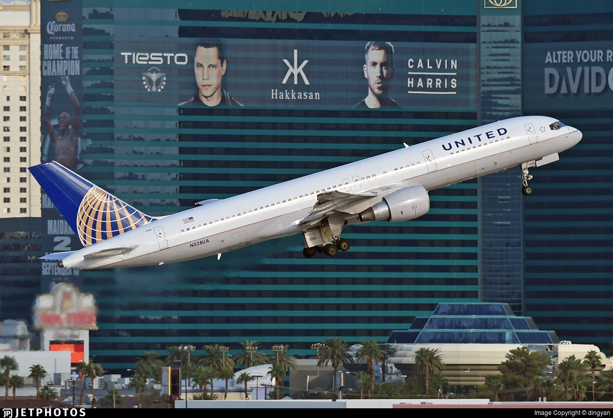 N528UA - Boeing 757-222 - United Airlines