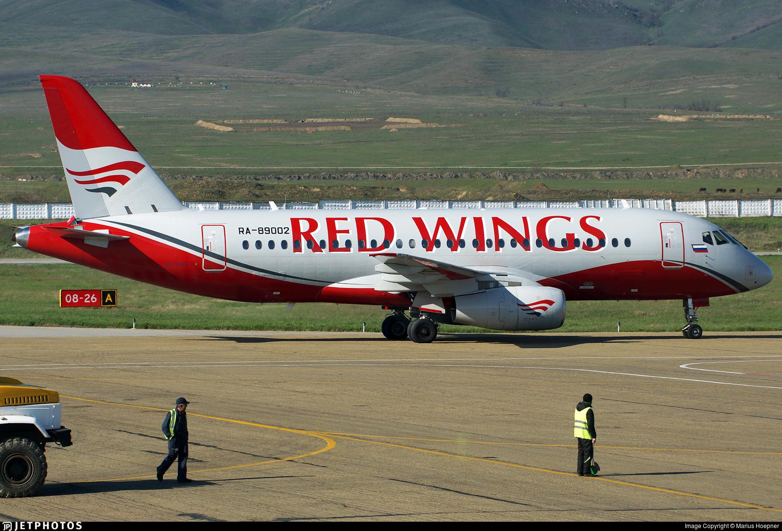 RA-89002 - Sukhoi Superjet 100-95B - Red Wings