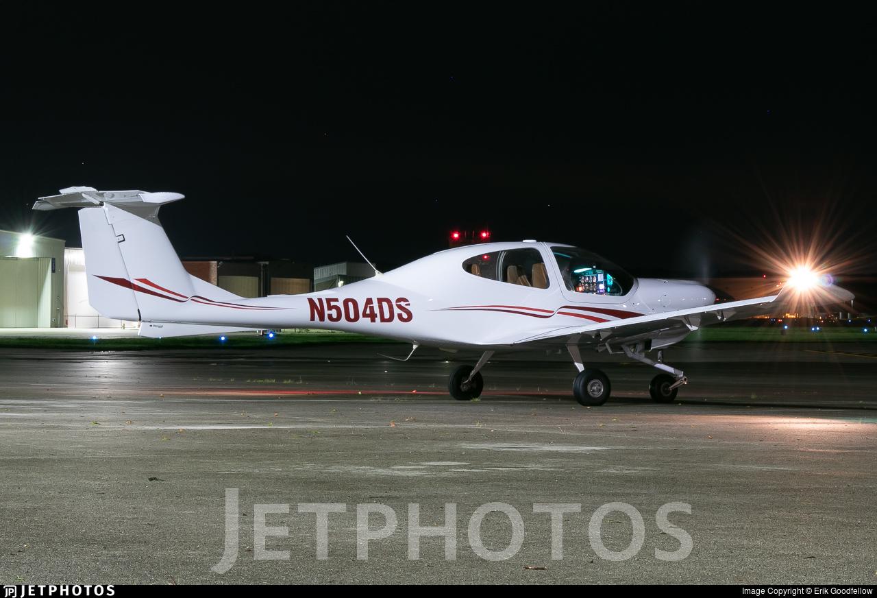N504DS - Diamond DA-40 Diamond Star - Private