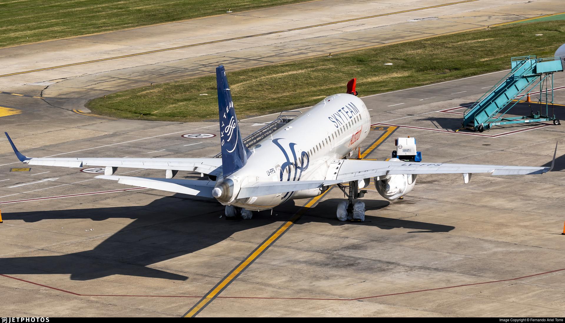 LV-FPS - Embraer 190-100IGW - Austral Líneas Aéreas