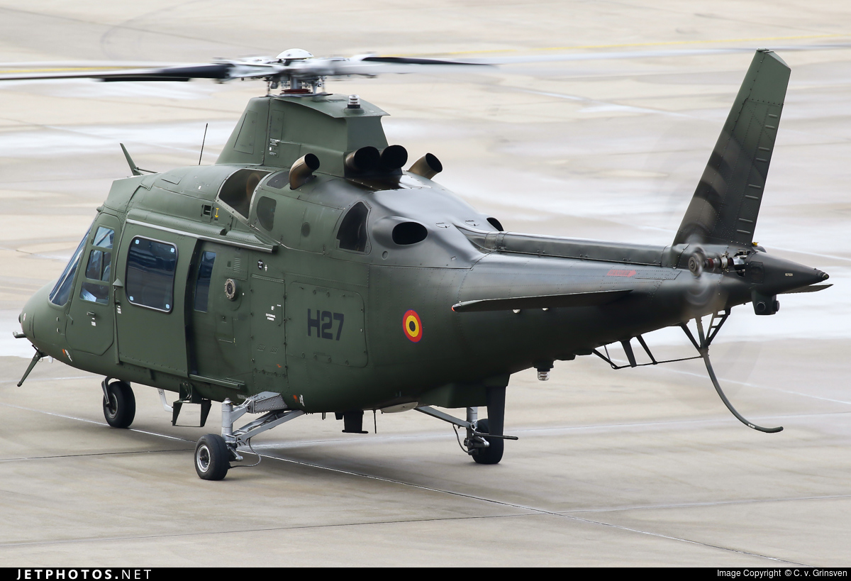 H27 - Agusta A109BA - Belgium - Air Force