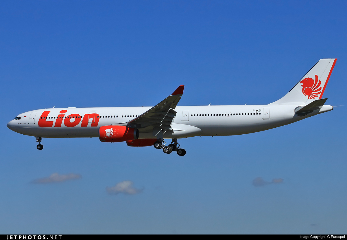 F-WWTN - Airbus A330-343 - Lion Air