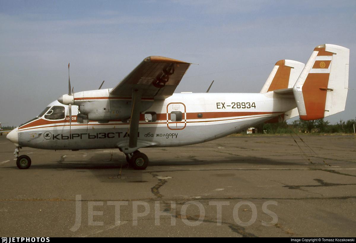 EX-28934 - PZL-Mielec An-28 - Kyrgyzstan Airlines