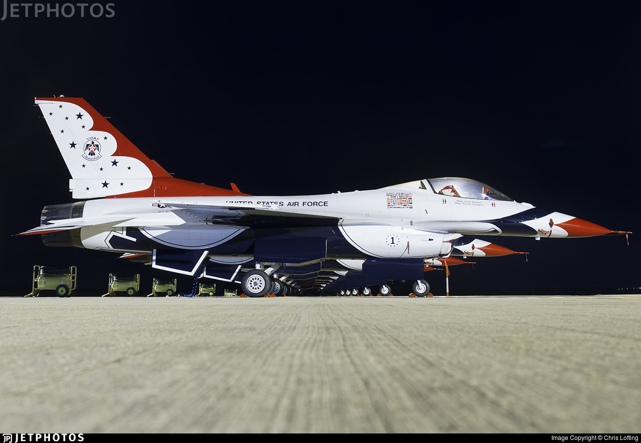 92-3881 - Lockheed Martin F-16C Fighting Falcon - United States - US Air Force (USAF)