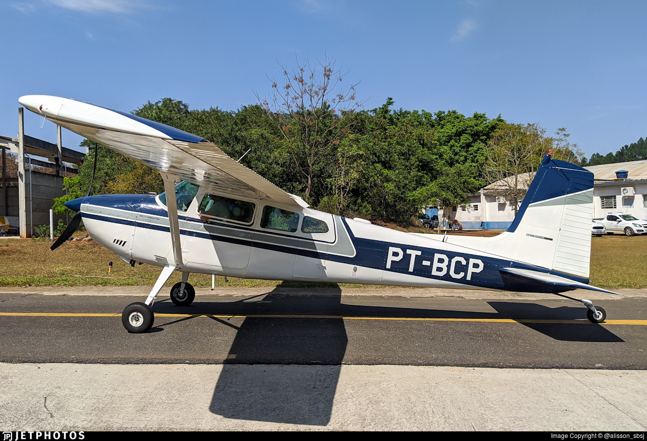 PT-BCP - Cessna 180A Skywagon - Private