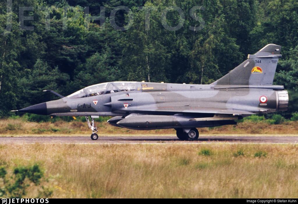 344 - Dassault Mirage 2000N - France - Air Force