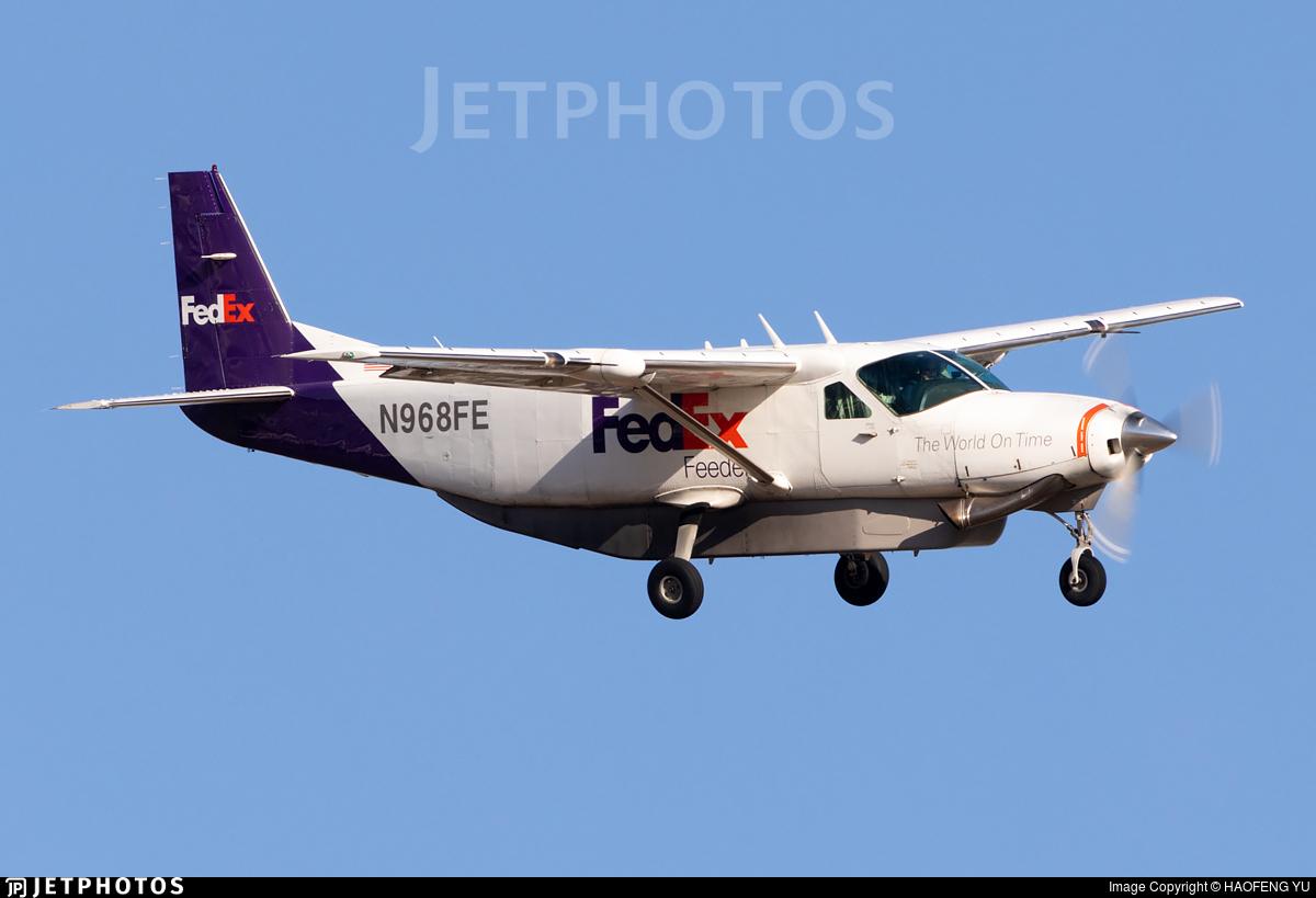 N968FE - Cessna 208B Super Cargomaster - FedEx Feeder (West Air)