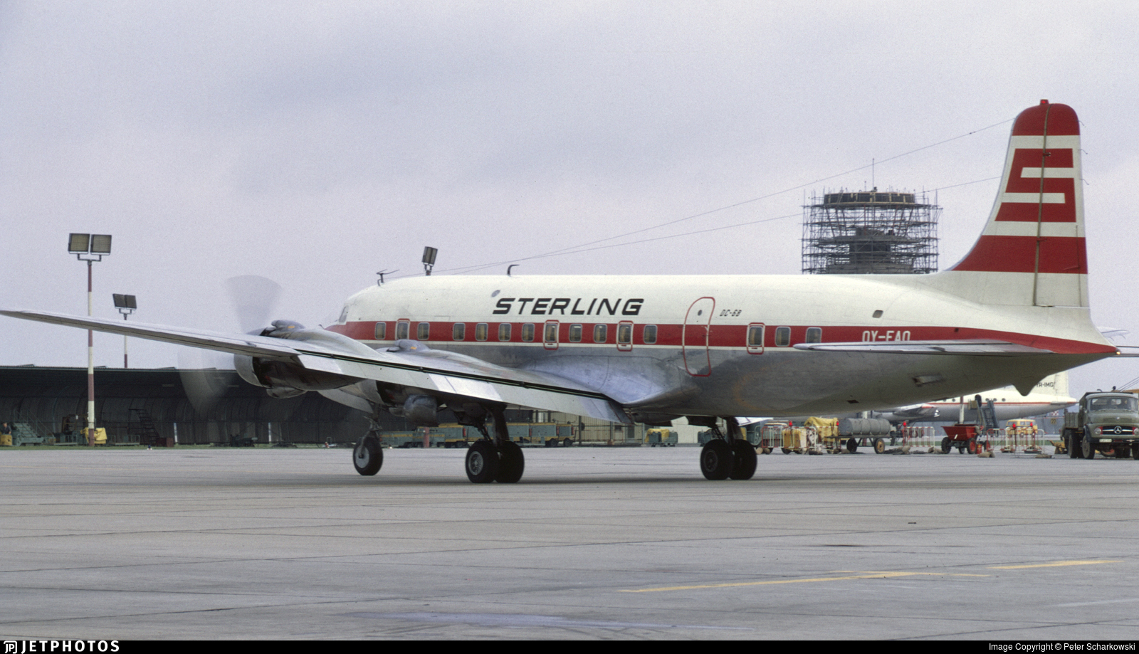 OY-EAO - Douglas DC-6B - Sterling Airways