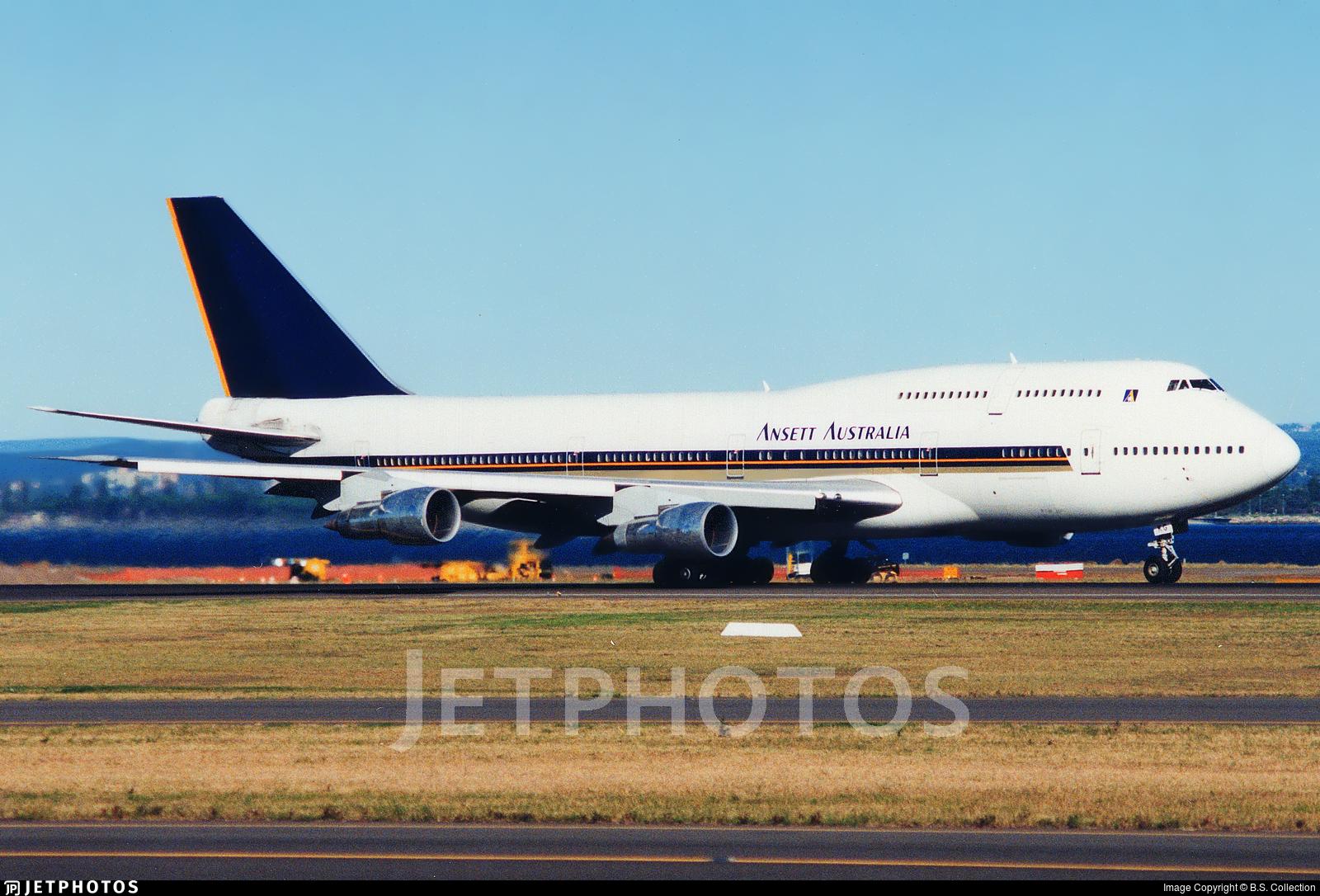 N121KG - Boeing 747-312 - Ansett Australia