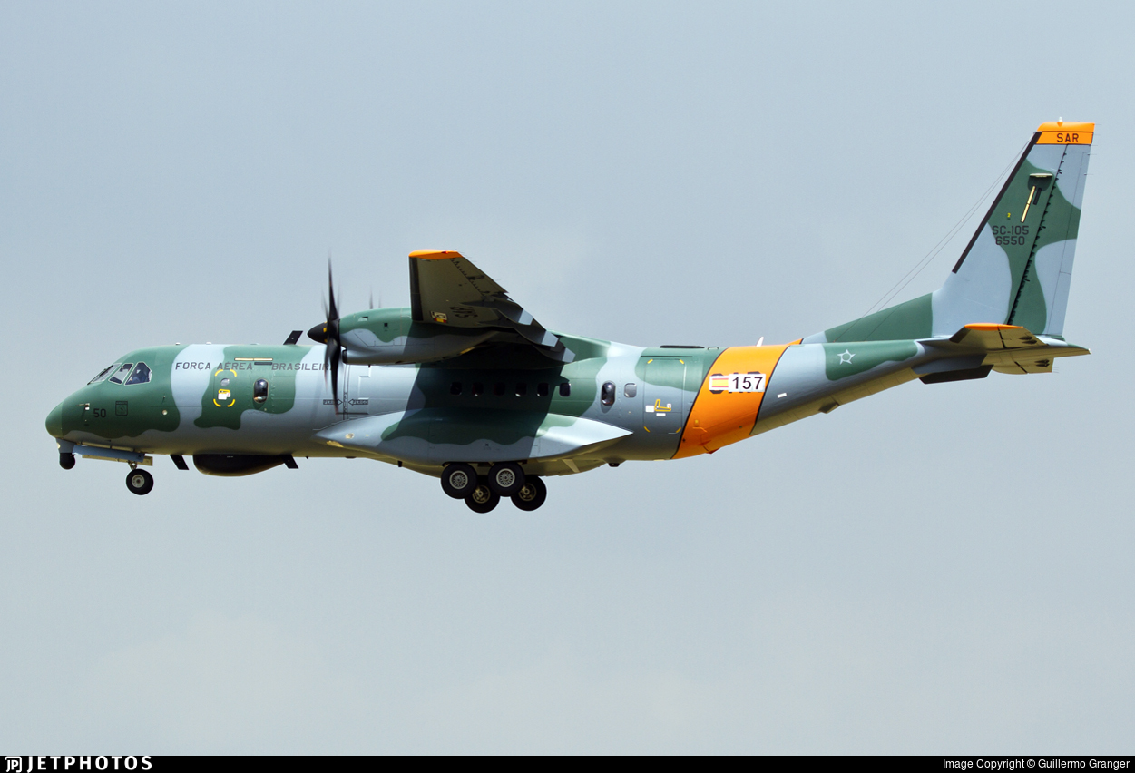 FAB6550 - Airbus SC-105 Amazonas - Brazil - Air Force