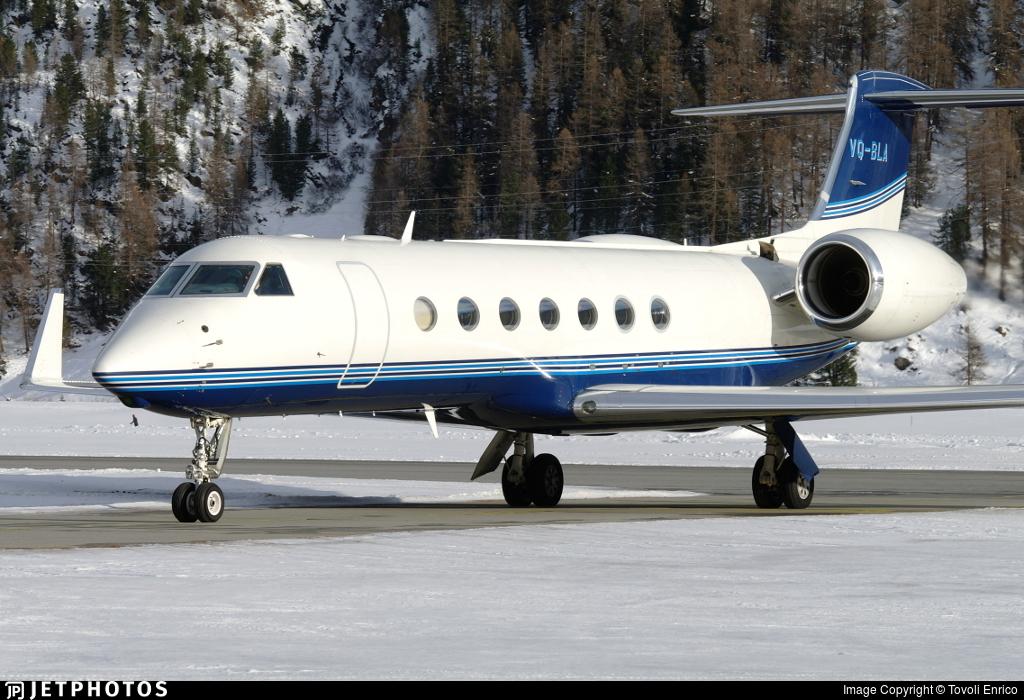 VQ-BLA - Gulfstream G550 - Private
