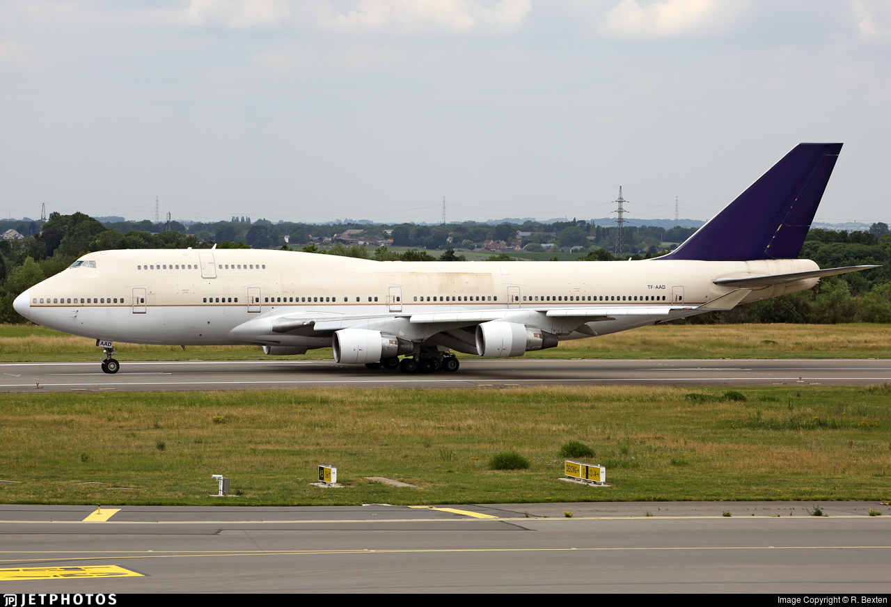 TF-AAD - Boeing 747-4H6 - Air Atlanta Icelandic