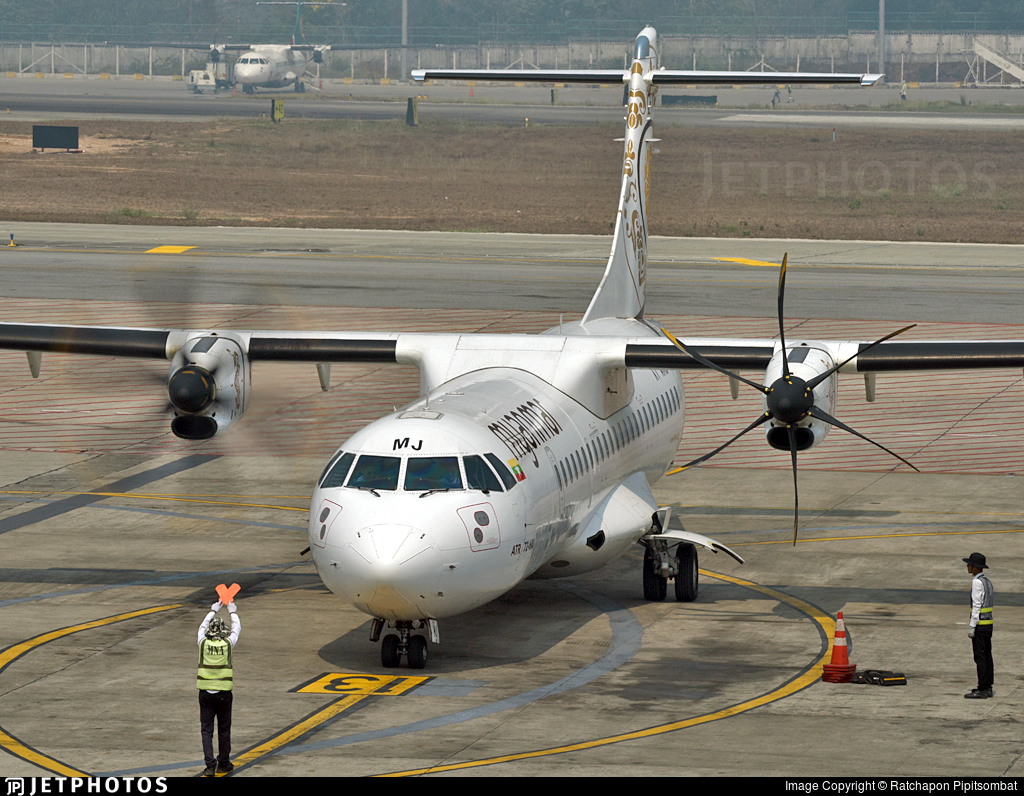 XY-AMJ - ATR 72-212A(600) - Myanmar National Airlines