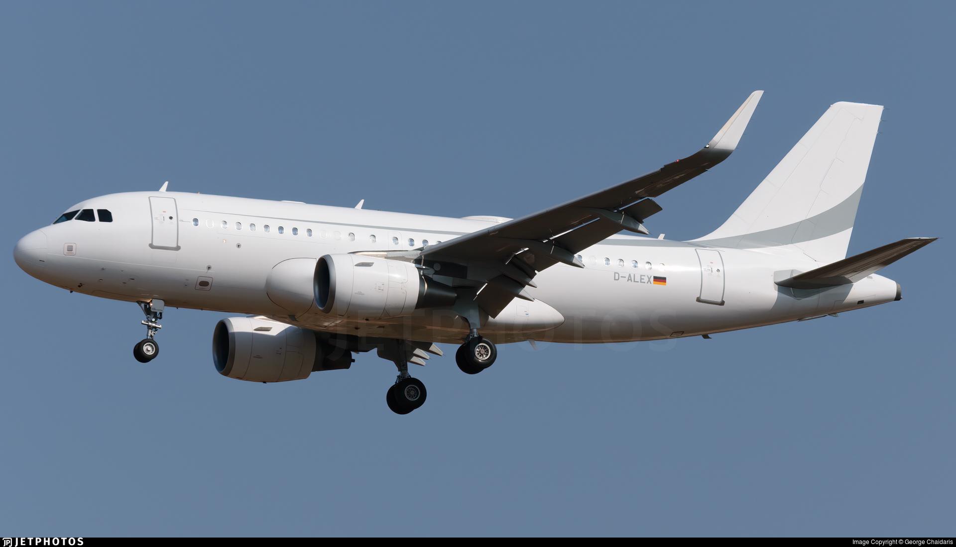 D-ALEX - Airbus A319-115(CJ) - K5 Aviation
