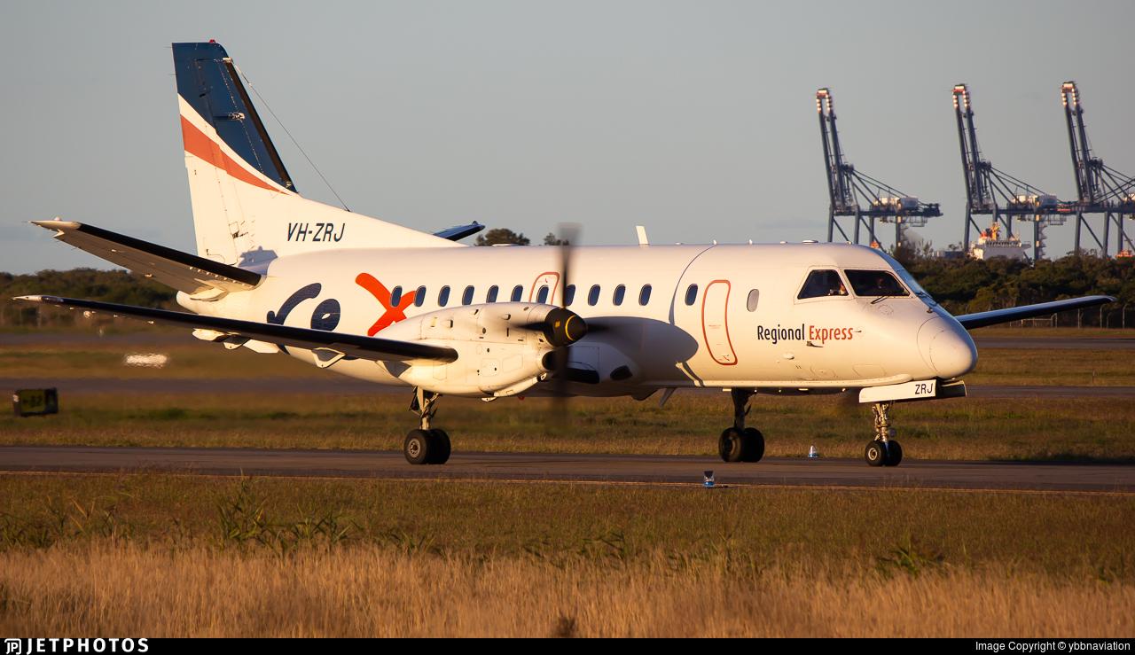 VH-ZRJ - Saab 340B - Regional Express (REX)