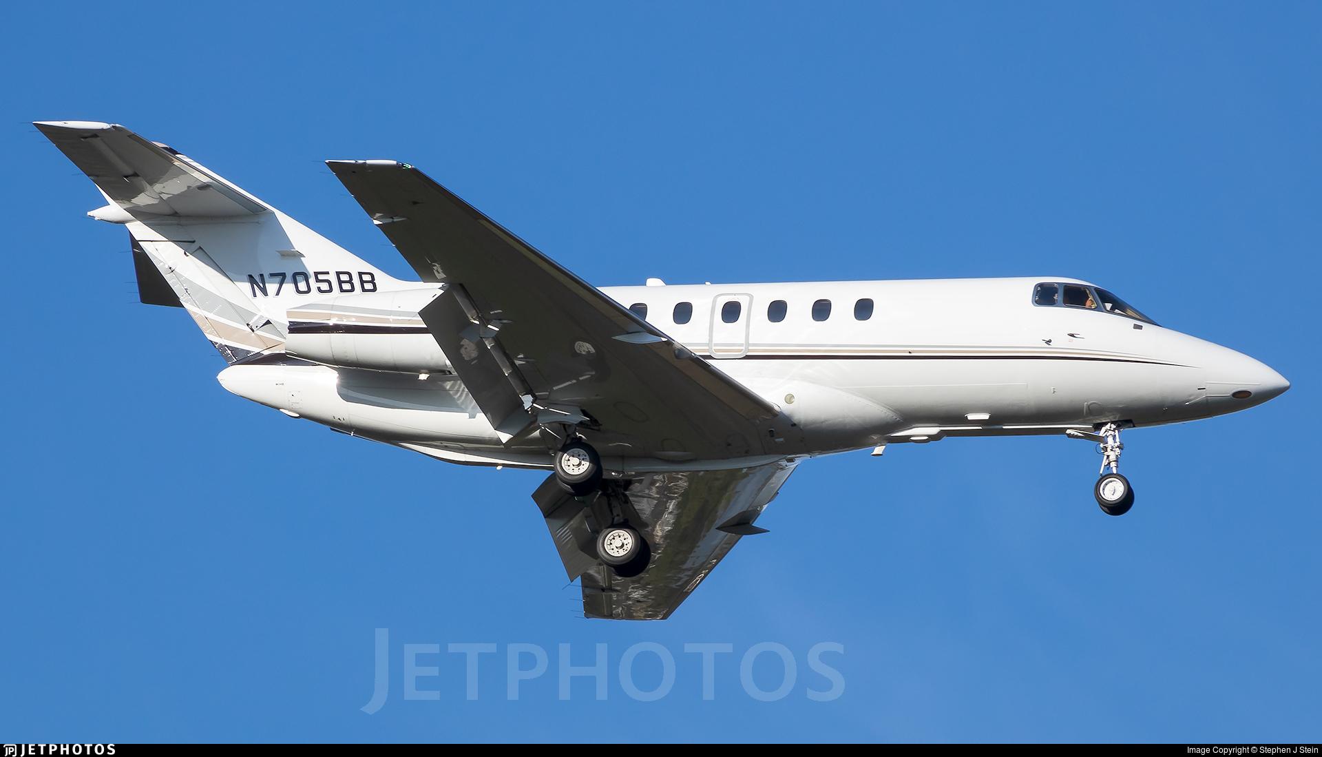 N705BB - Raytheon Hawker 900XP - Private