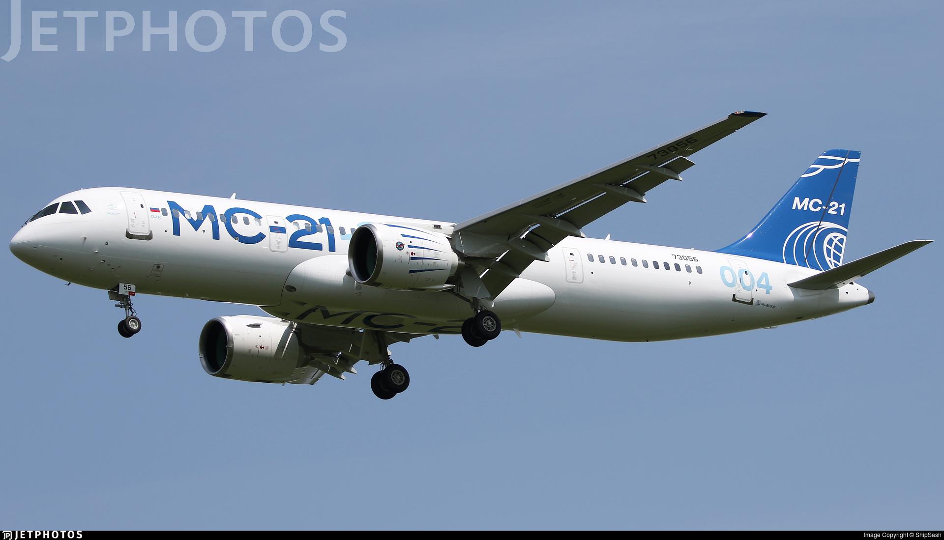 73056 - Irkut MC-21-300 - Irkut Corporation