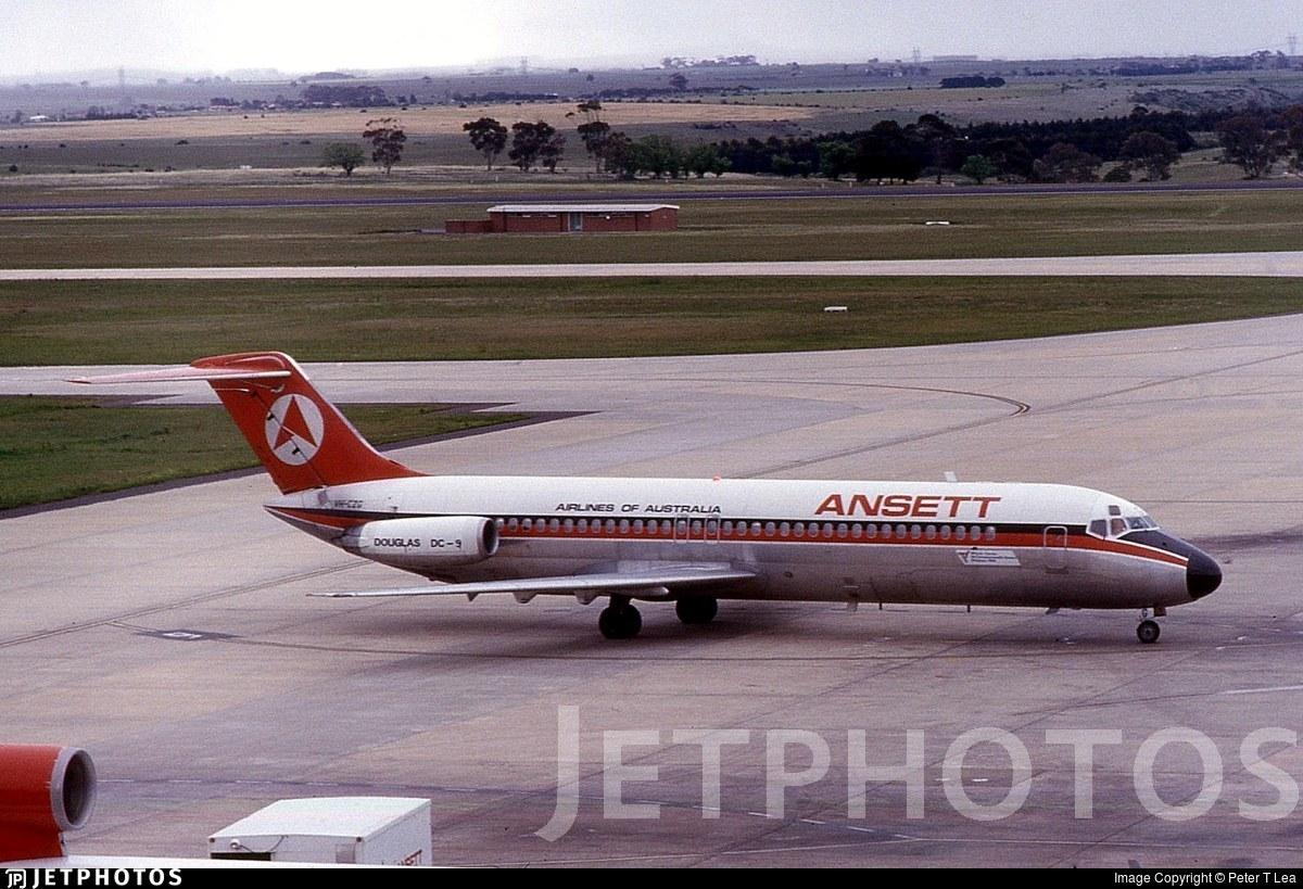 VH-CZG - McDonnell Douglas DC-9-31 - Ansett Airlines of Australia