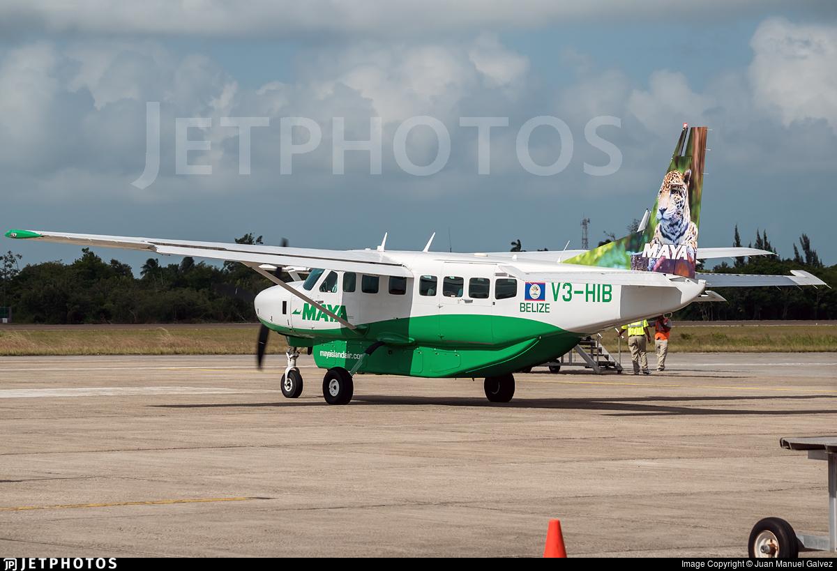 V3-HIB - Cessna 208B Grand Caravan - Maya Island Air
