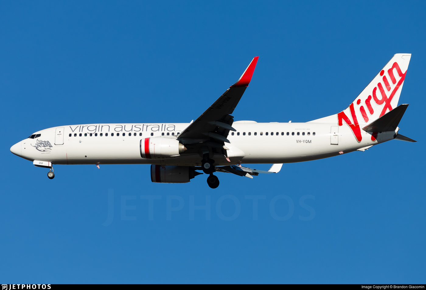 VH-YQM - Boeing 737-8FE - Virgin Australia Airlines