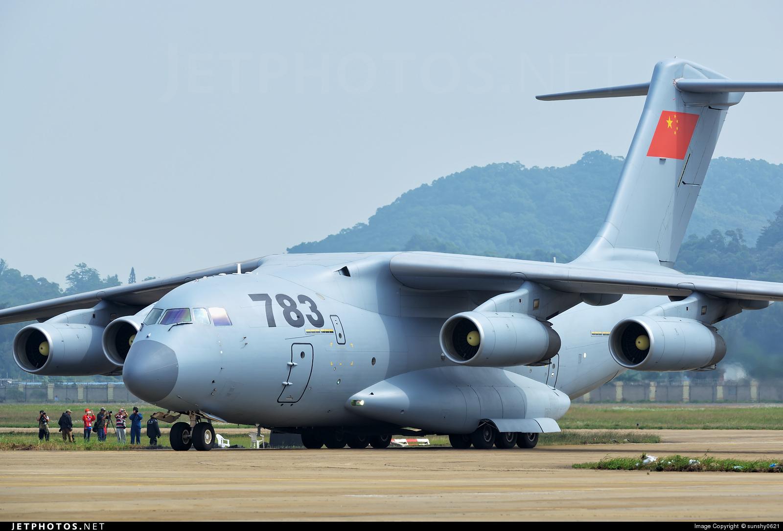 783 - Xian Y-20 - China - Air Force