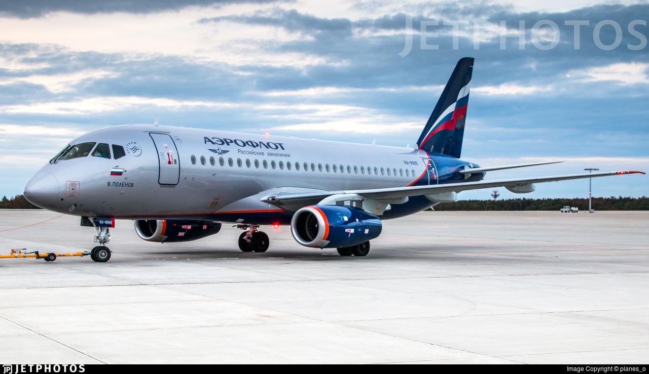 RA-89115 - Sukhoi Superjet 100-95B - Aeroflot