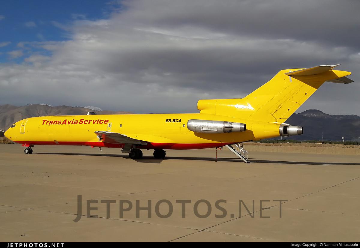 ER-BCA - Boeing 727-230(Adv)(F) - Trans Avia Service