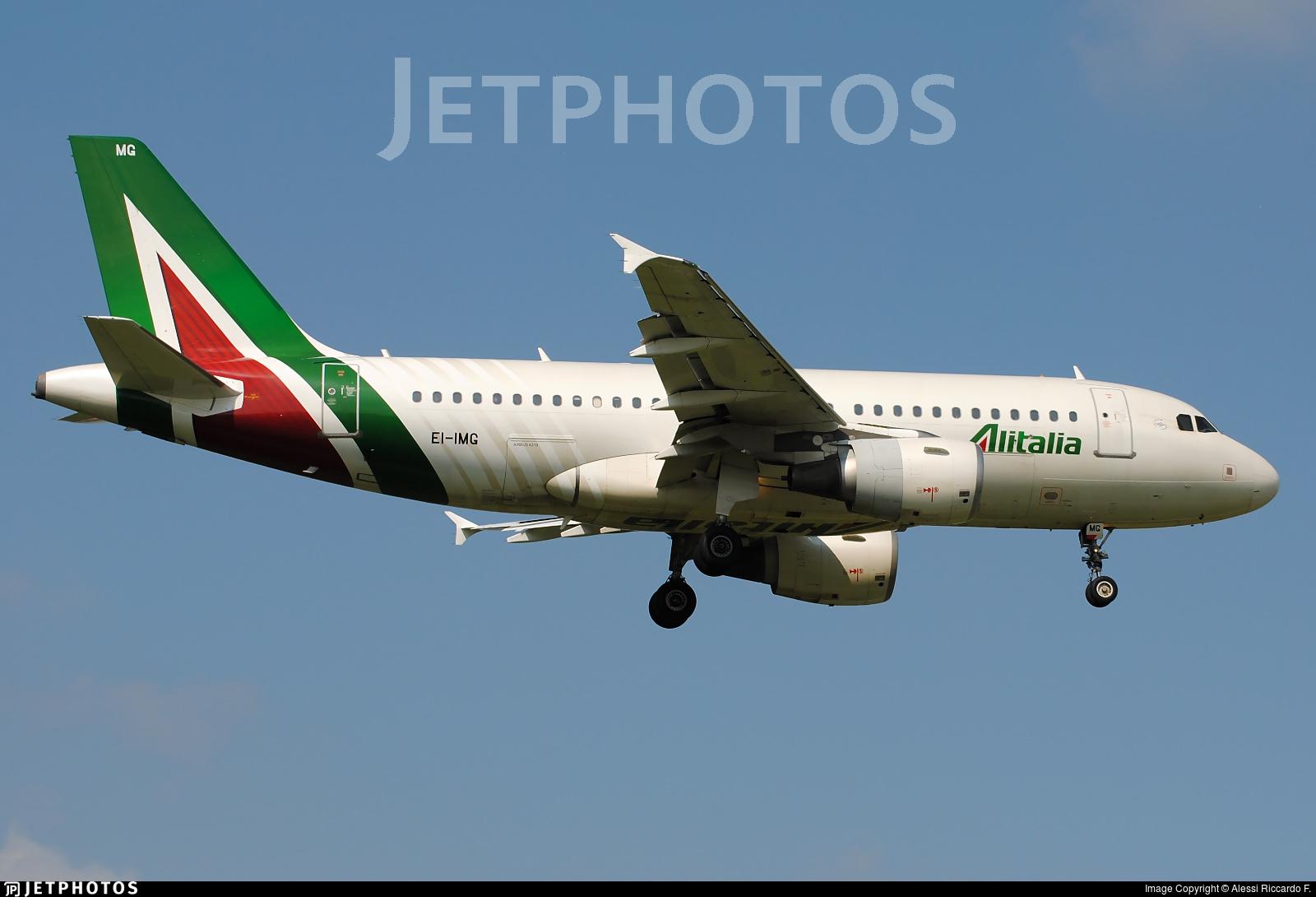 EI-IMG - Airbus A319-112 - Alitalia