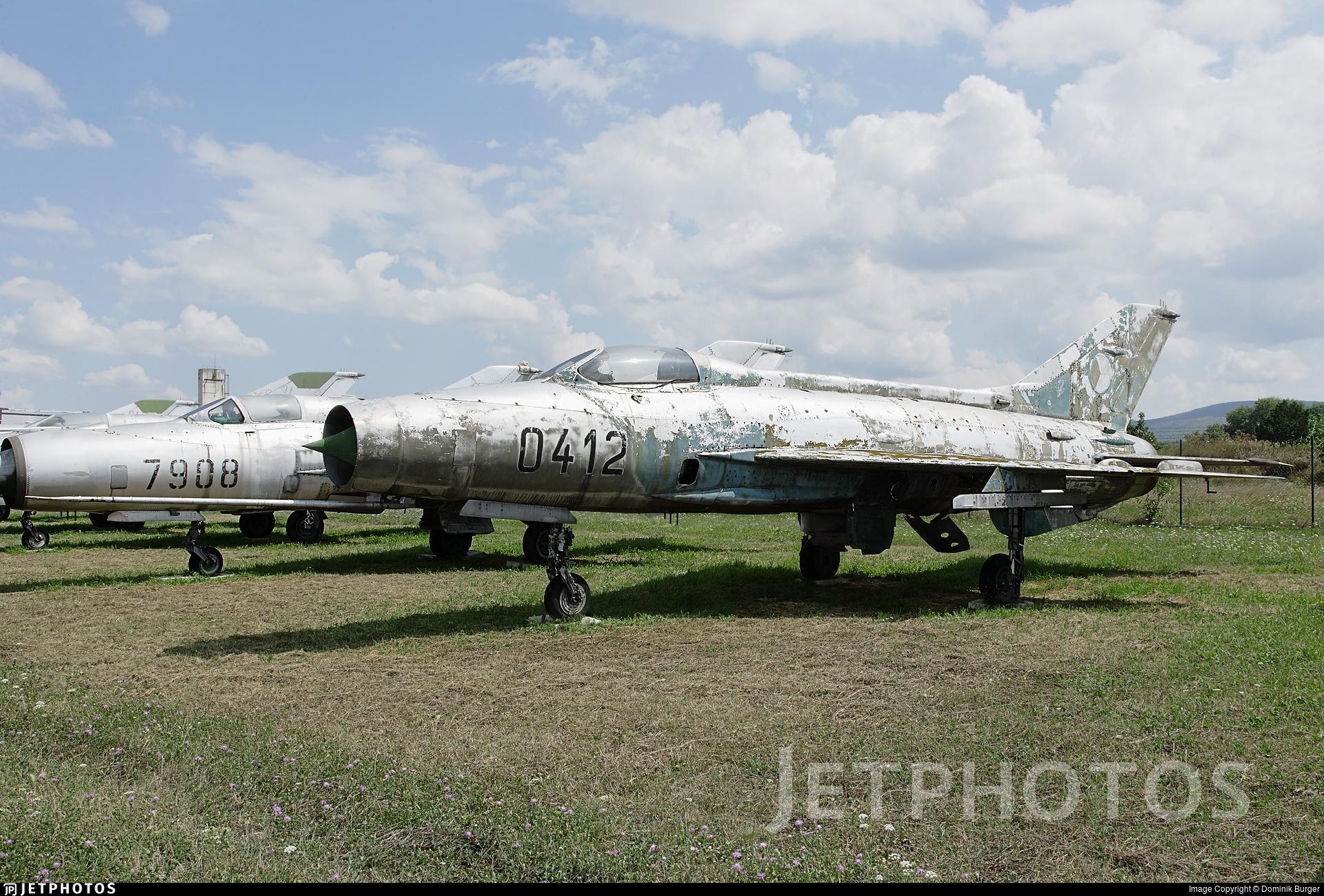 0412 - Mikoyan-Gurevich MiG-21F-13 Fishbed C - Czechoslovakia - Air Force