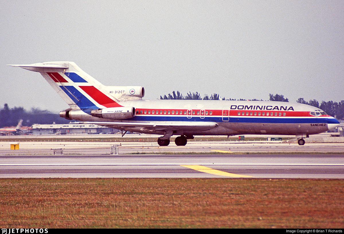 HI-312CT - Boeing 727-173C - Dominicana