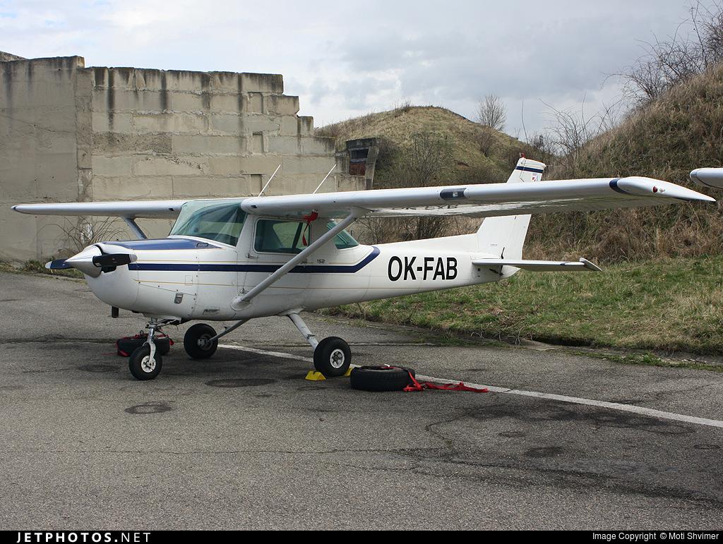 OK-FAB - Cessna 152 - Flying Academy