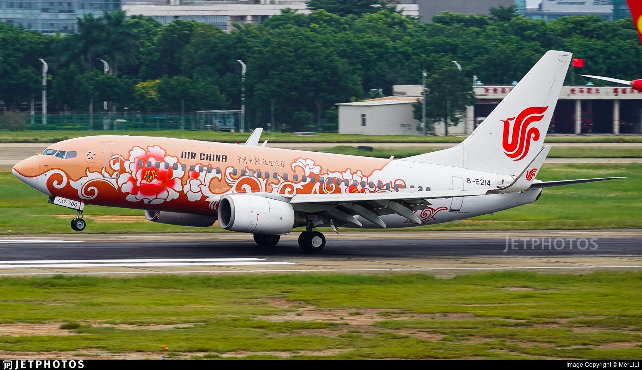 B-5214 - Boeing 737-79L - Air China