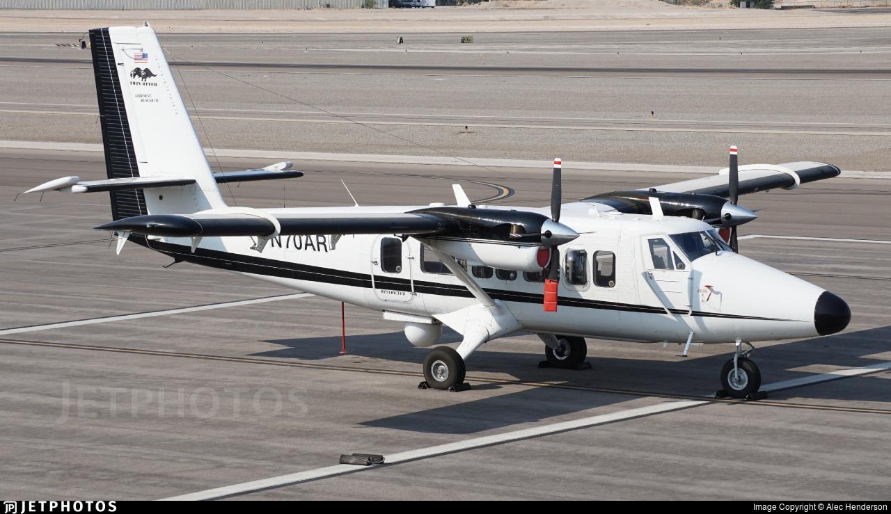 N70AR - De Havilland Canada DHC-6-300 Twin Otter - Private