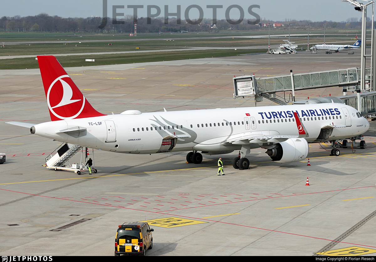 TC-LSF - Airbus A321-271NX - Turkish Airlines
