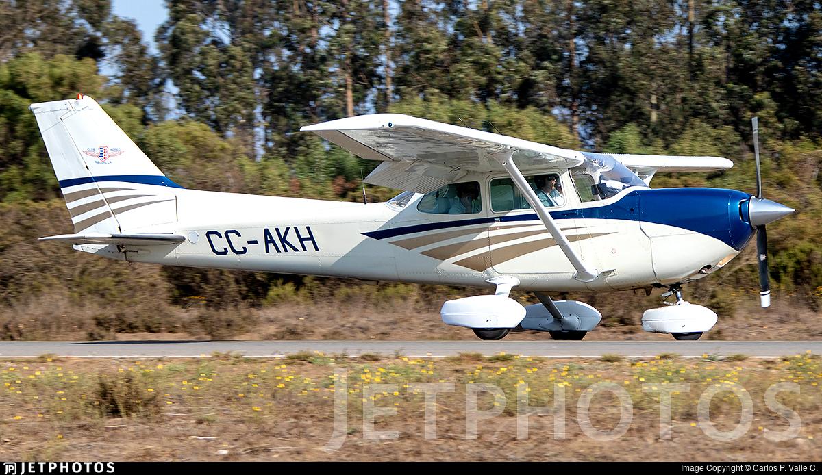 CC-AKH - Cessna R172K Hawk XP - Club Aéreo de Melipilla