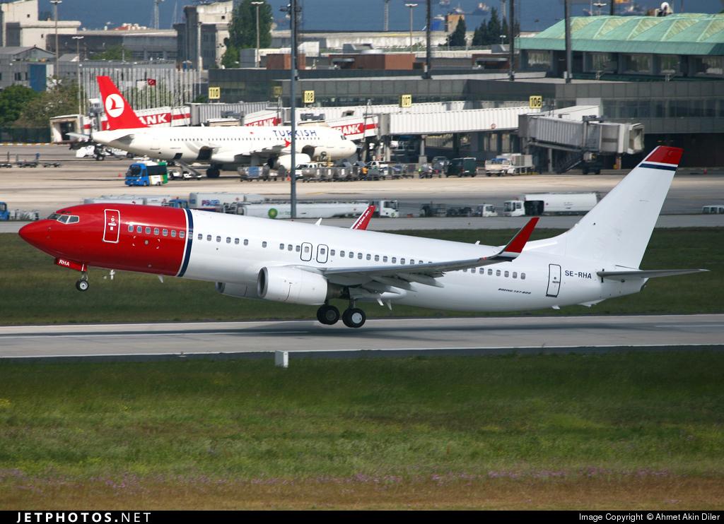 SE-RHA | Boeing 737-86N | Norwegian | Ahmet Akin Diler | JetPhotos