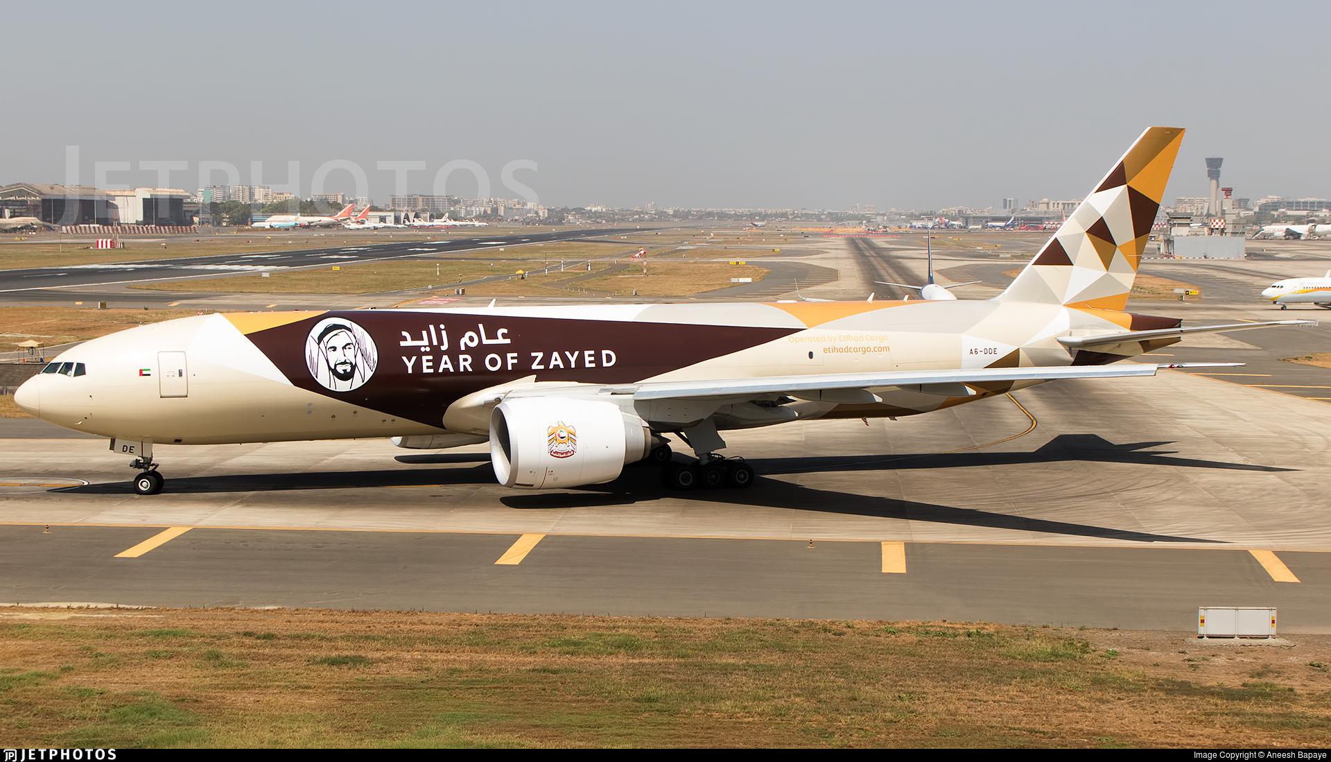 A6-DDE - Boeing 777-FFX - Etihad Cargo