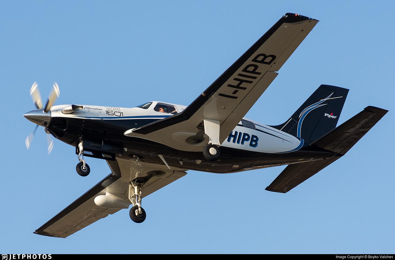 I-HIPB - Piper PA-46-500TP Malibu Meridian - Private