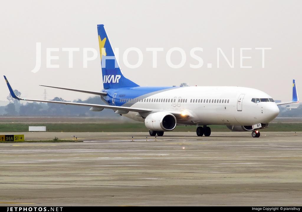 VQ-BVY - Boeing 737-8Q8 - Ikar