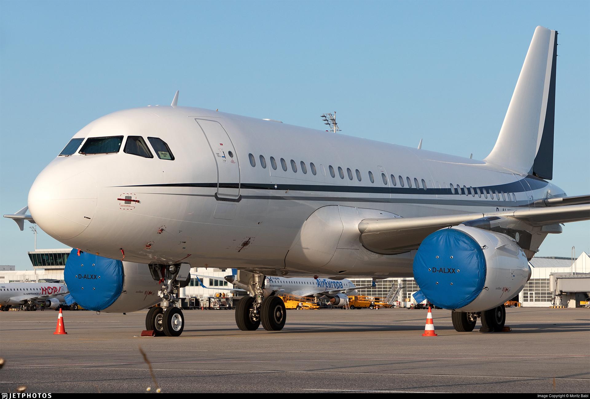 D-ALXX - Airbus A319-115(CJ) - K5 Aviation
