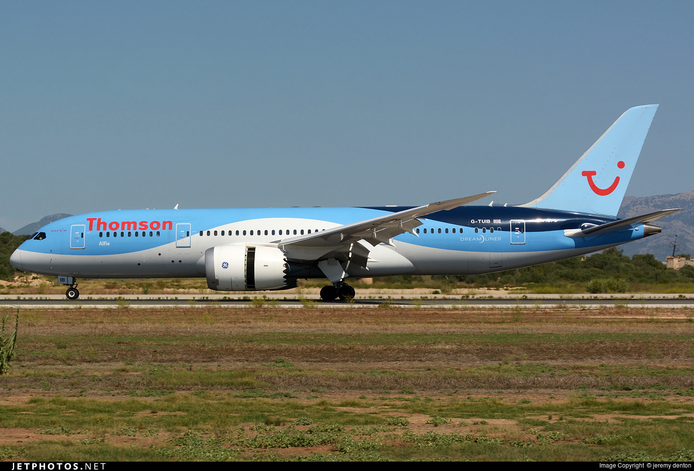 G-TUIB | Boeing 787-8 Dreamliner | Thomson Airways | jeremy denton ...
