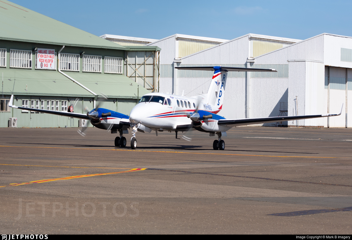 VH-MVS - Beechcraft 200 Super King Air - Ambulance Service of NSW (RFDS)